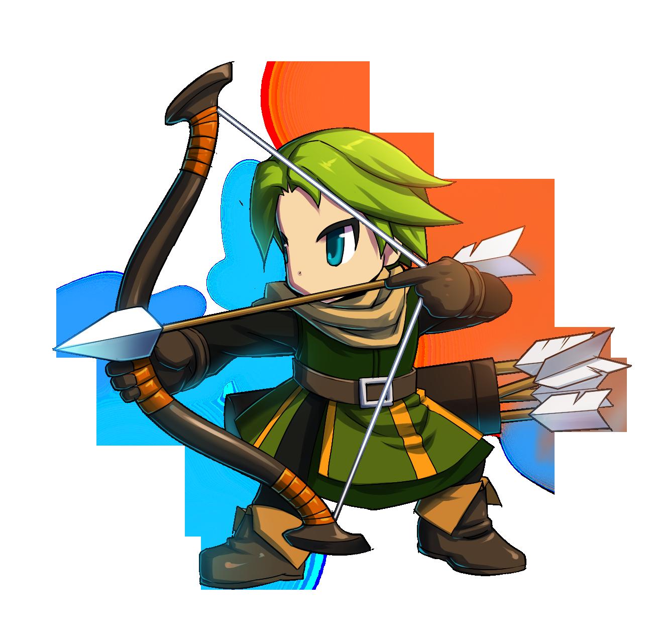 Archer lario brave frontier. Hunter clipart bowman