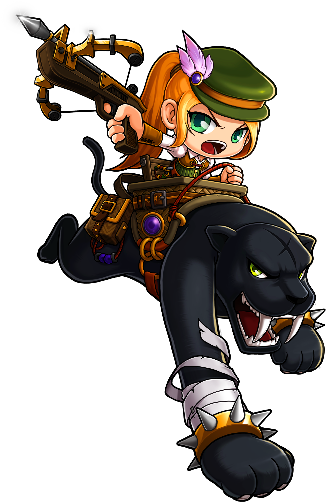 Hunter clipart bowman. Image wild female png