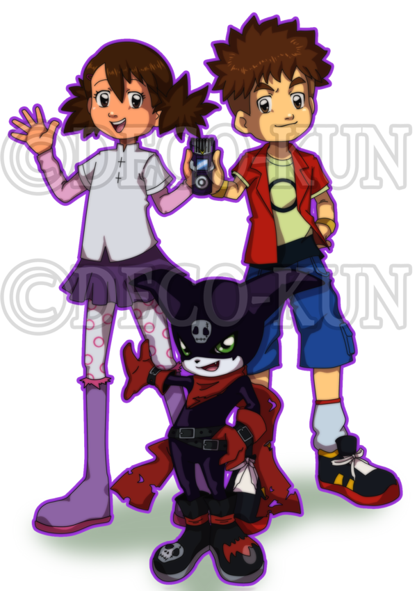 Ai and mako with. Hunter clipart boy hunting