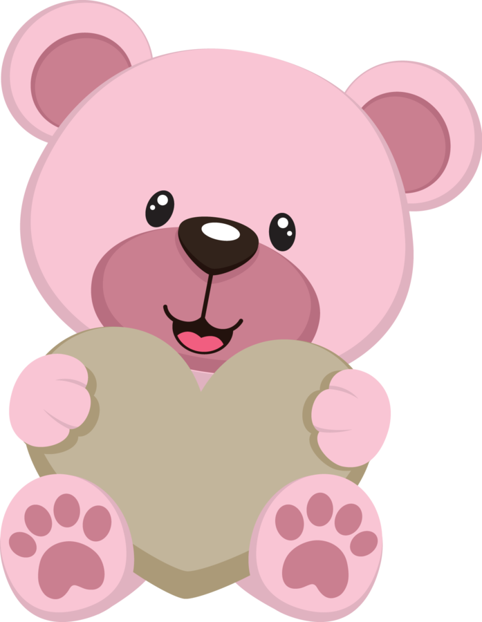 Pink baby ibqkkprltswfcj png. Hunter clipart cartoon bear