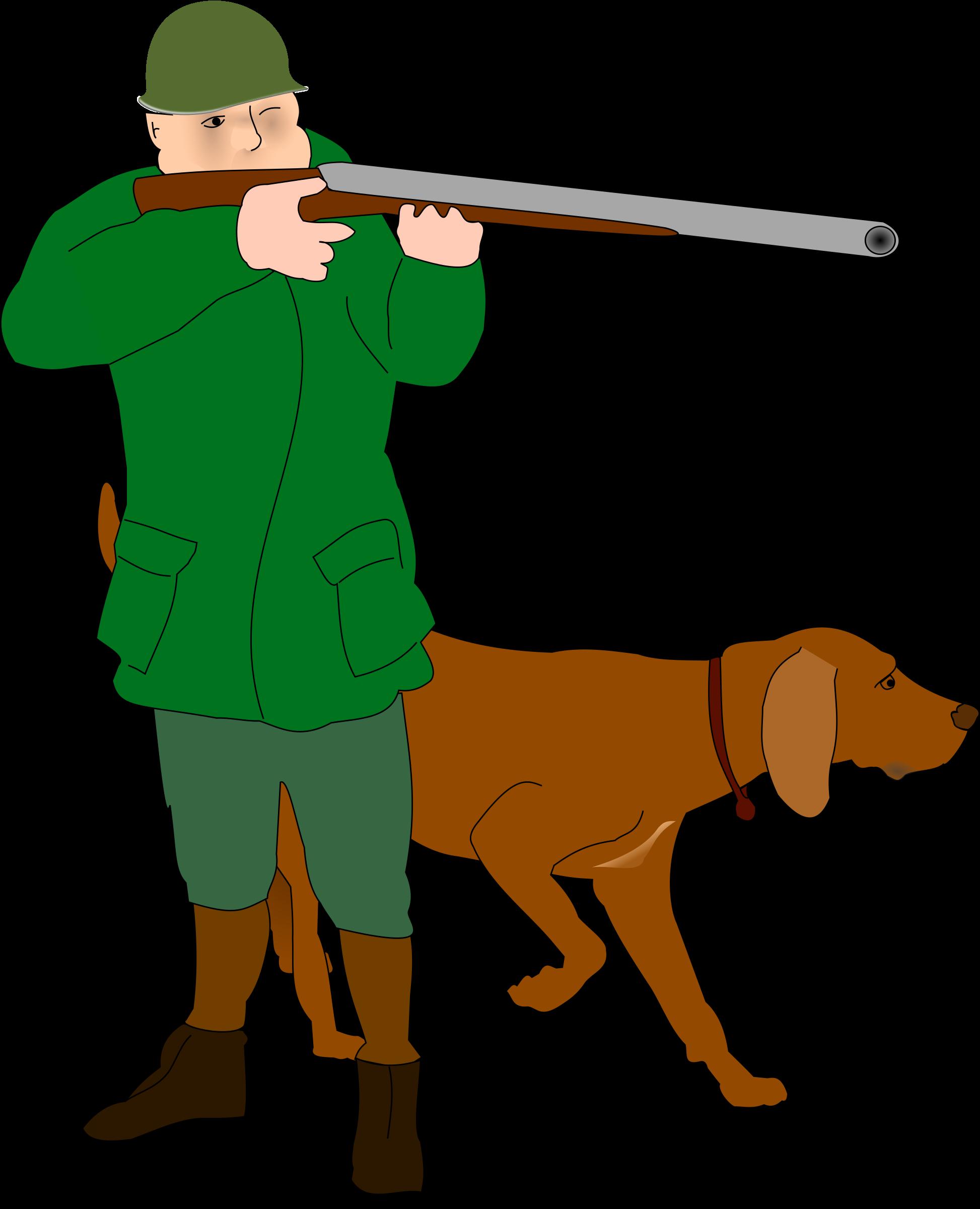 Hunter military helmet big. Hunting clipart target hunting