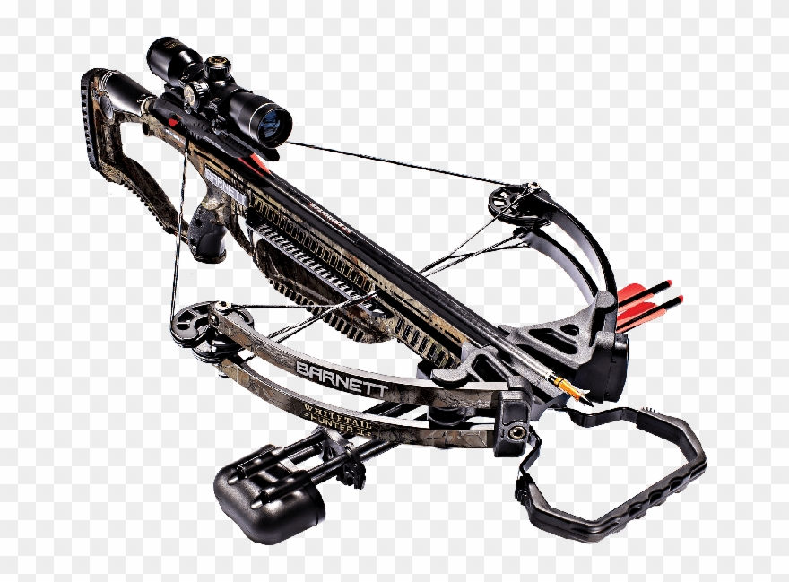 Hunter clipart crossbow. Barnett whitetail