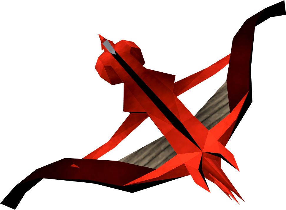 Hunter clipart crossbow. Dragon runescape wiki fandom