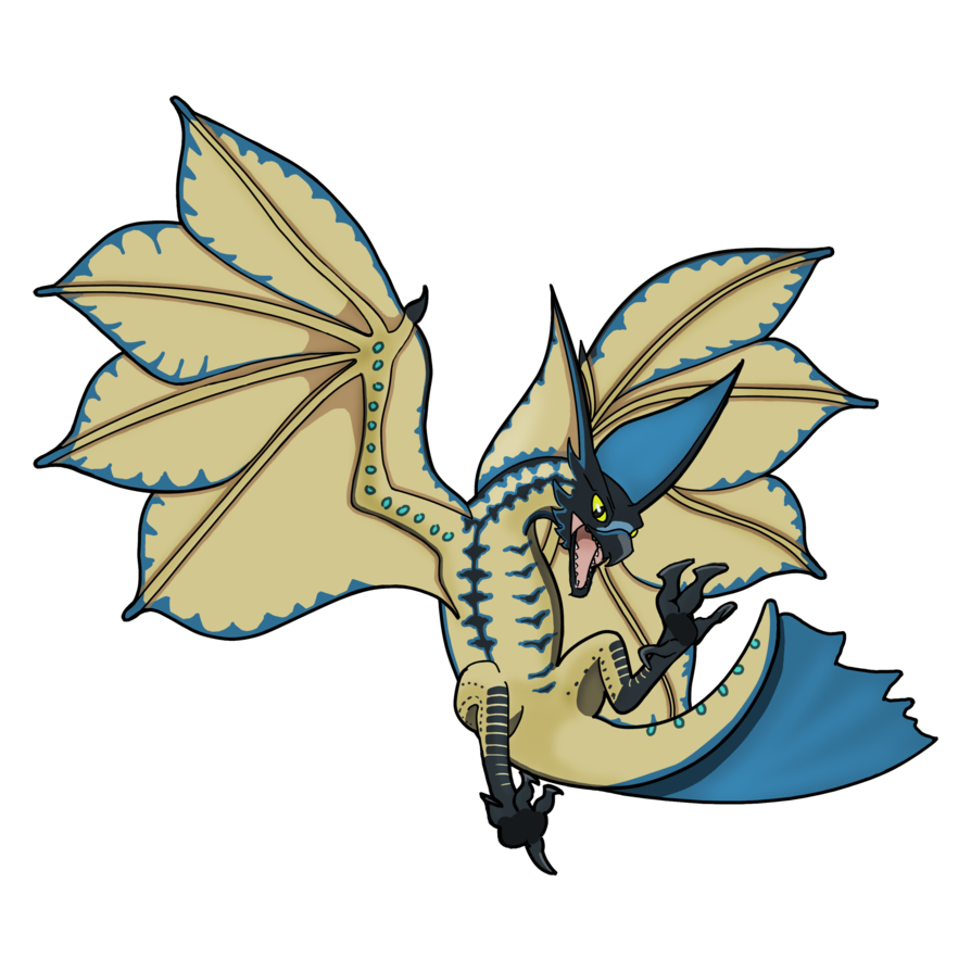 Hunter clipart cute. Legiana monster by vncreations