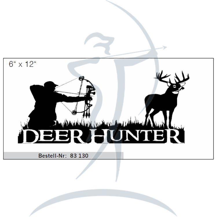 Sticker x bf . Hunter clipart deer hunter