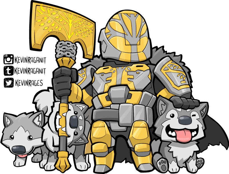 My submission for year. Hunter clipart destiny 2