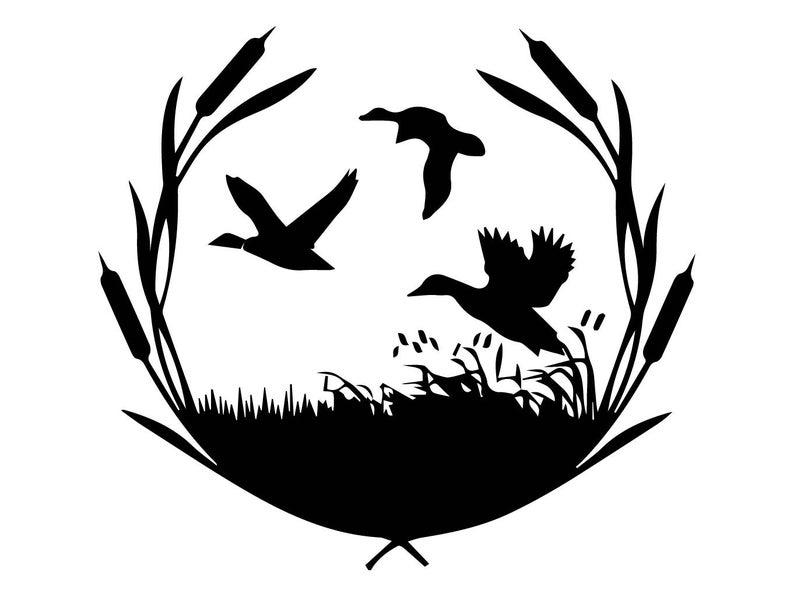 Duck nature bird hunt. Hunter clipart goose hunting