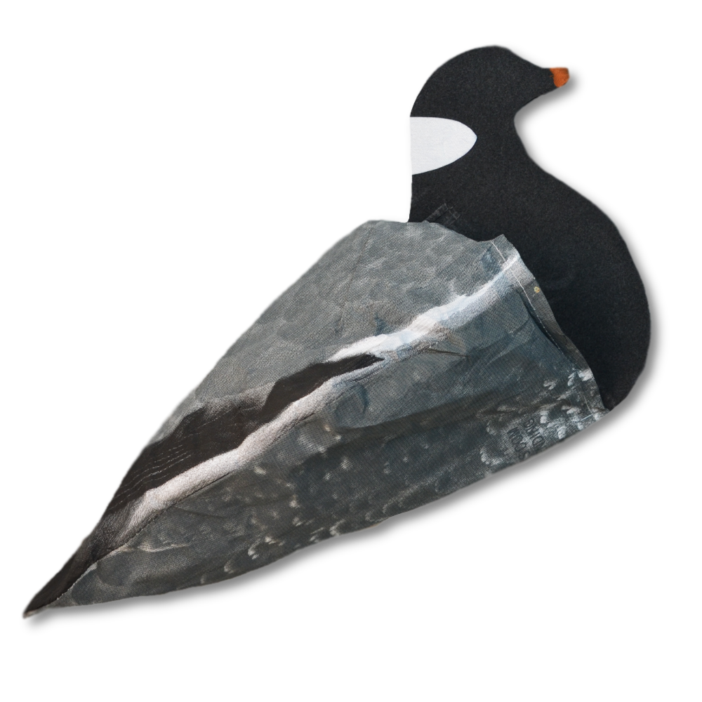 Decoys from mojo lucky. Hunter clipart goose hunting
