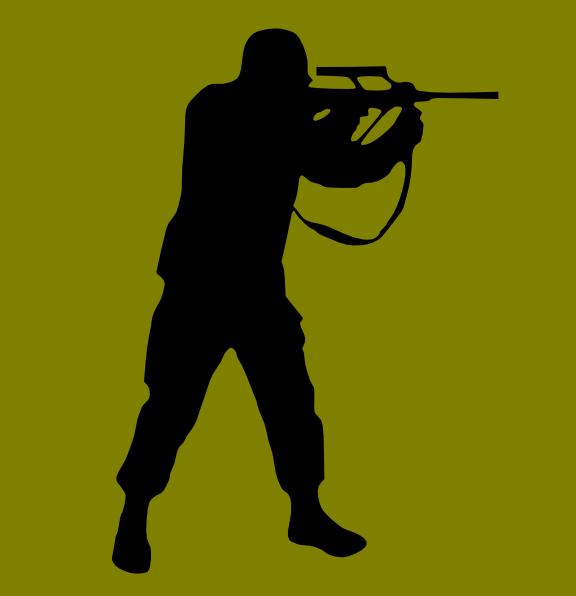 Hunter clipart gun drawing. Clip art at clker