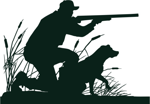 Free dog cliparts download. Hunting clipart man hunting