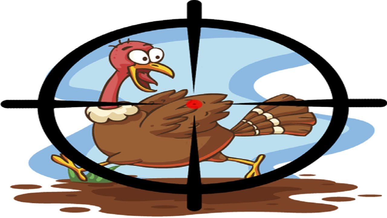 Hunter station . Hunting clipart hunting turkey