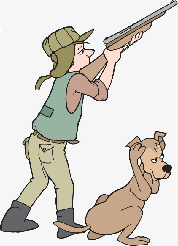 Download free png cartoon. Hunter clipart hunting