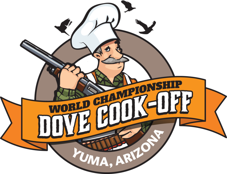 Cook off registration welcome. Hunter clipart hunting dove