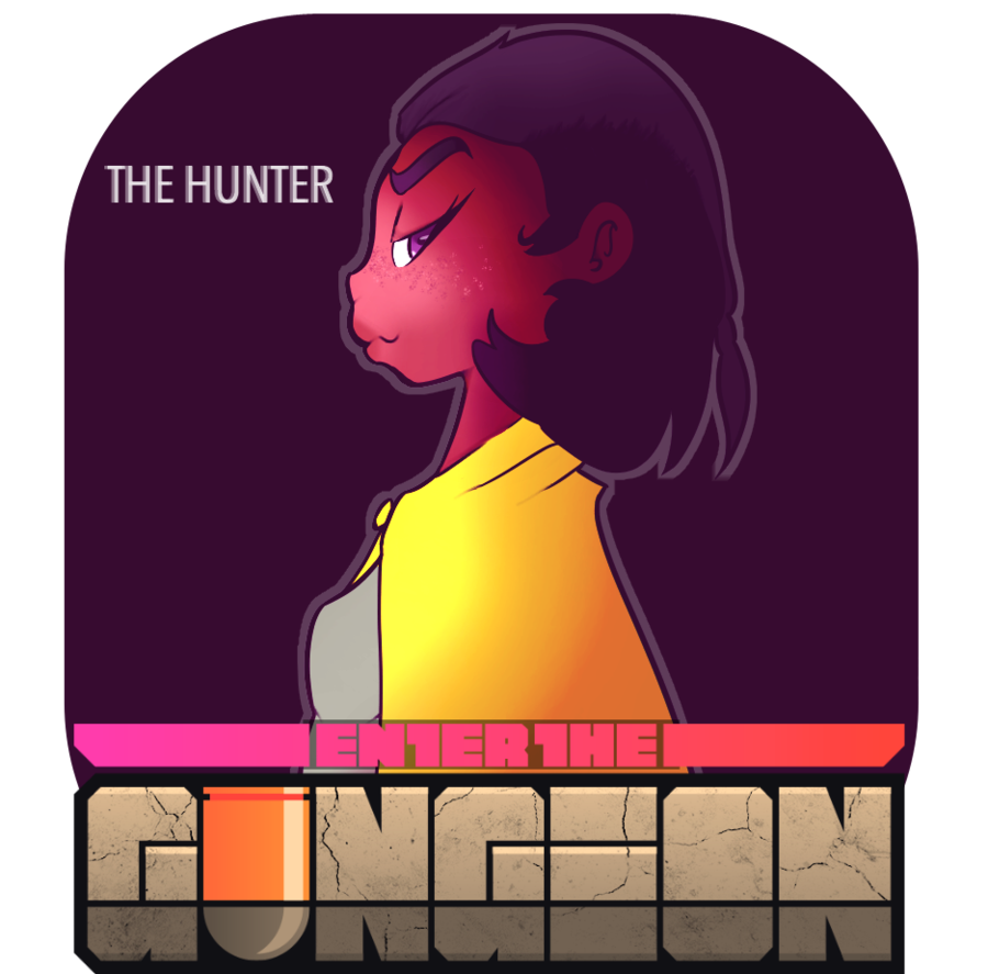 Enter the gungeon by. Hunter clipart huntsman