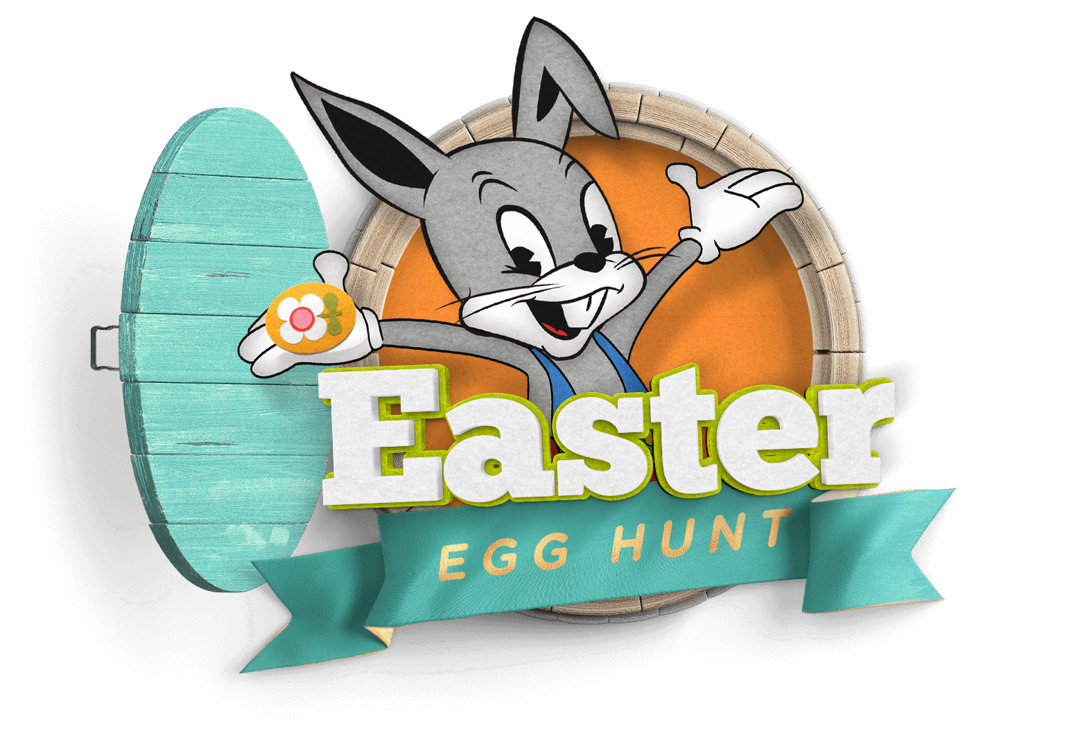 Volunteering clipart easter. Egg hunt event at