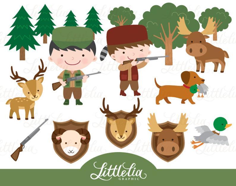 Season . Hunter clipart kid hunting
