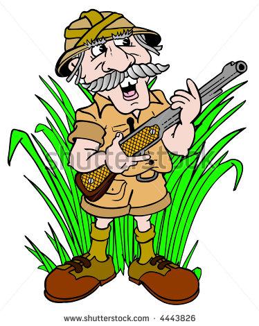 Hunter clipart man hunting.  clip art clipartlook