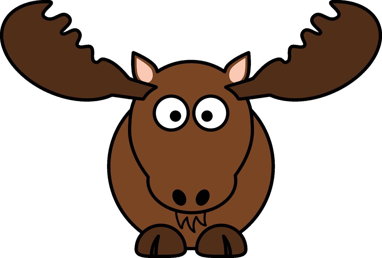Main street skowhegan gets. Moose clipart moose hunting