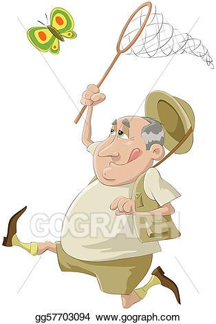 Hunter clipart net. Vector art the of