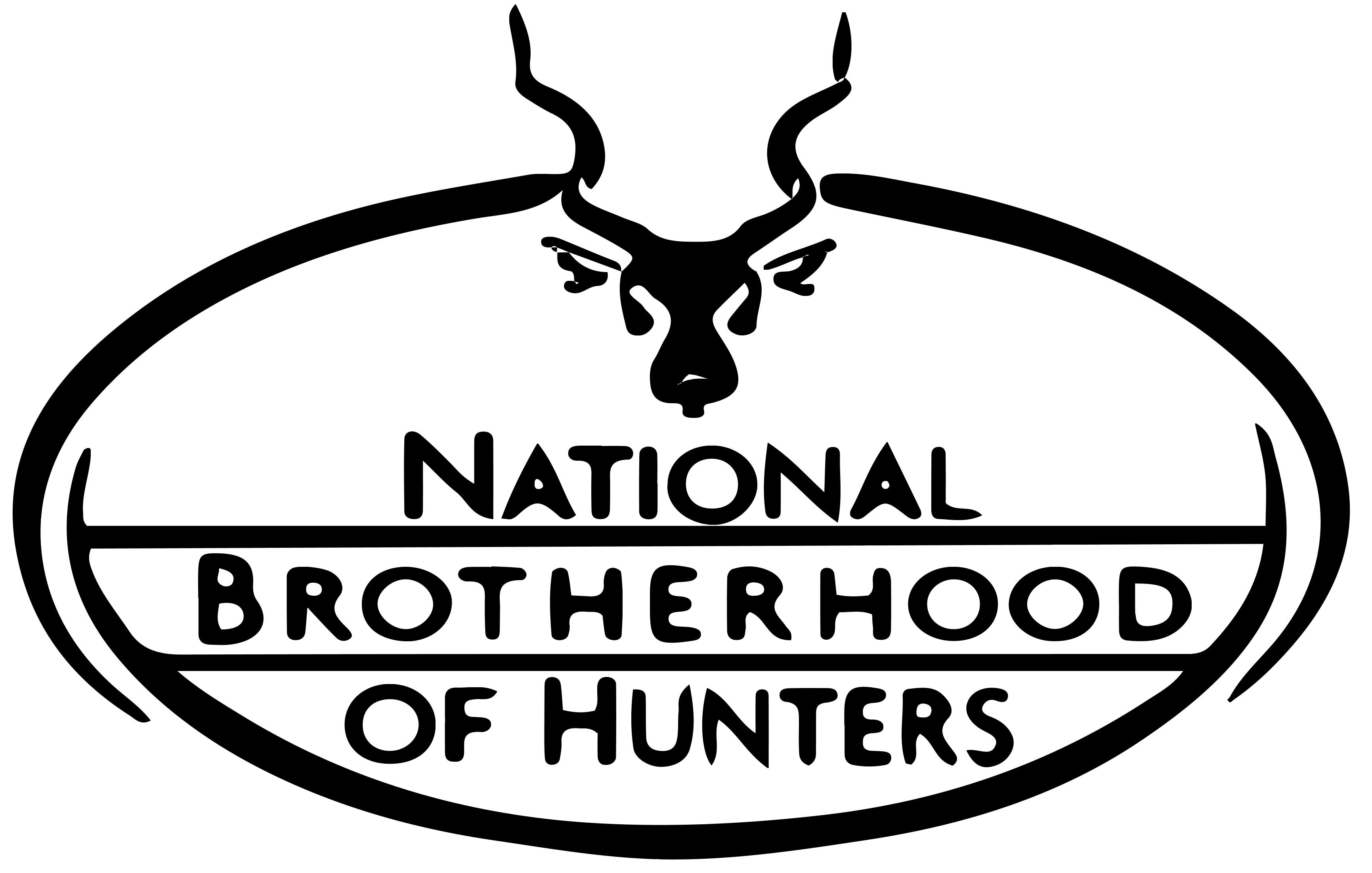 Hunting clipart woman hunter. National brotherhood of hunters