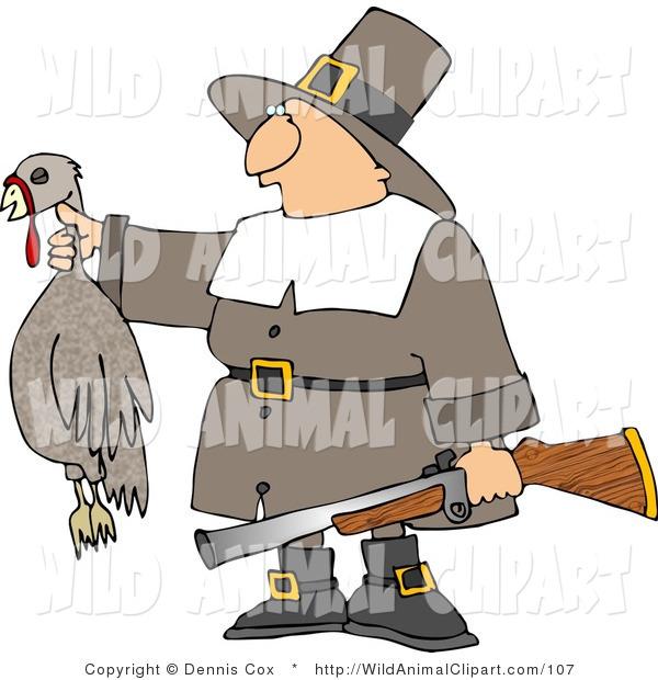 Hunter clipart pilgrim. Clip art of a