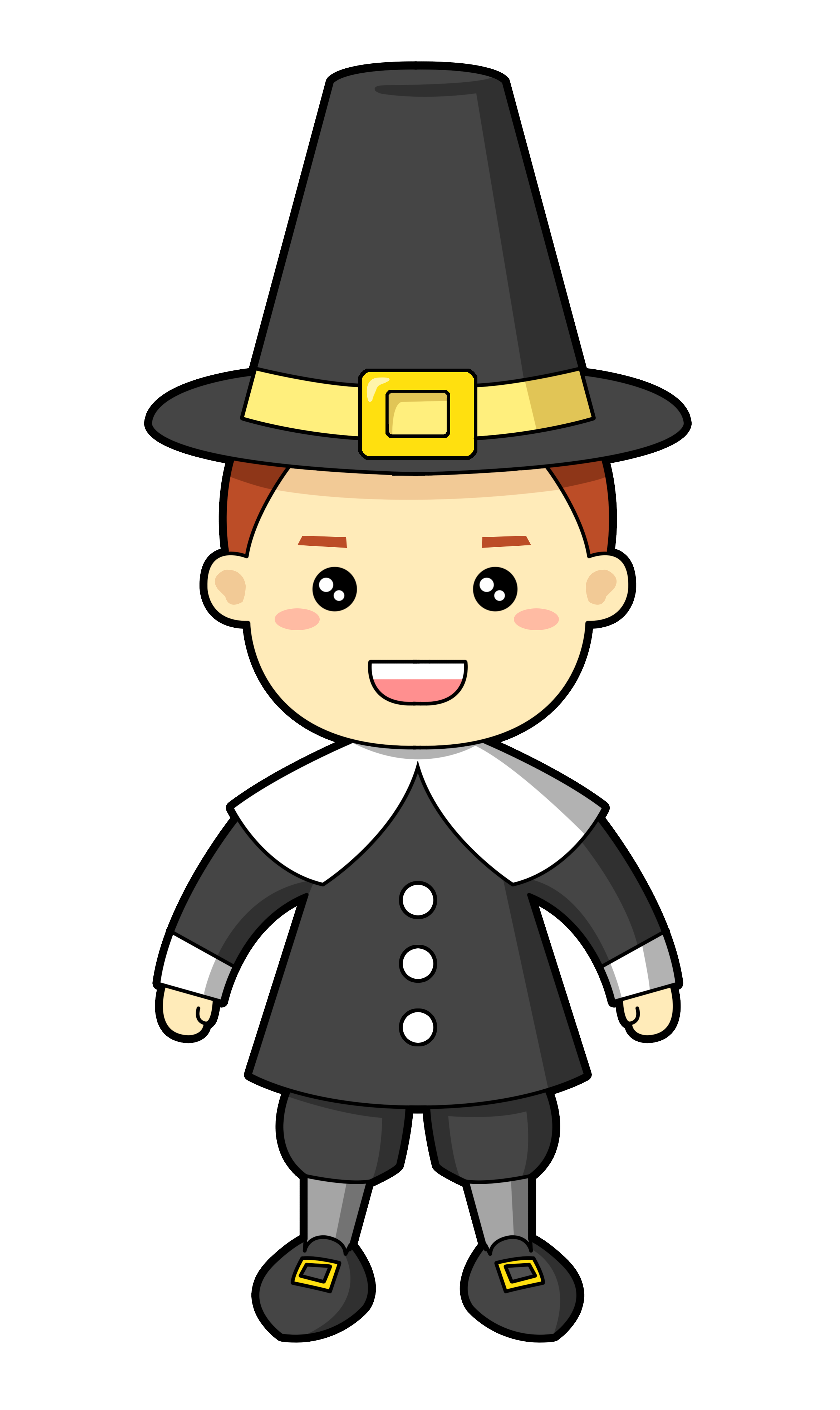 collection of high. Hunter clipart pilgrim