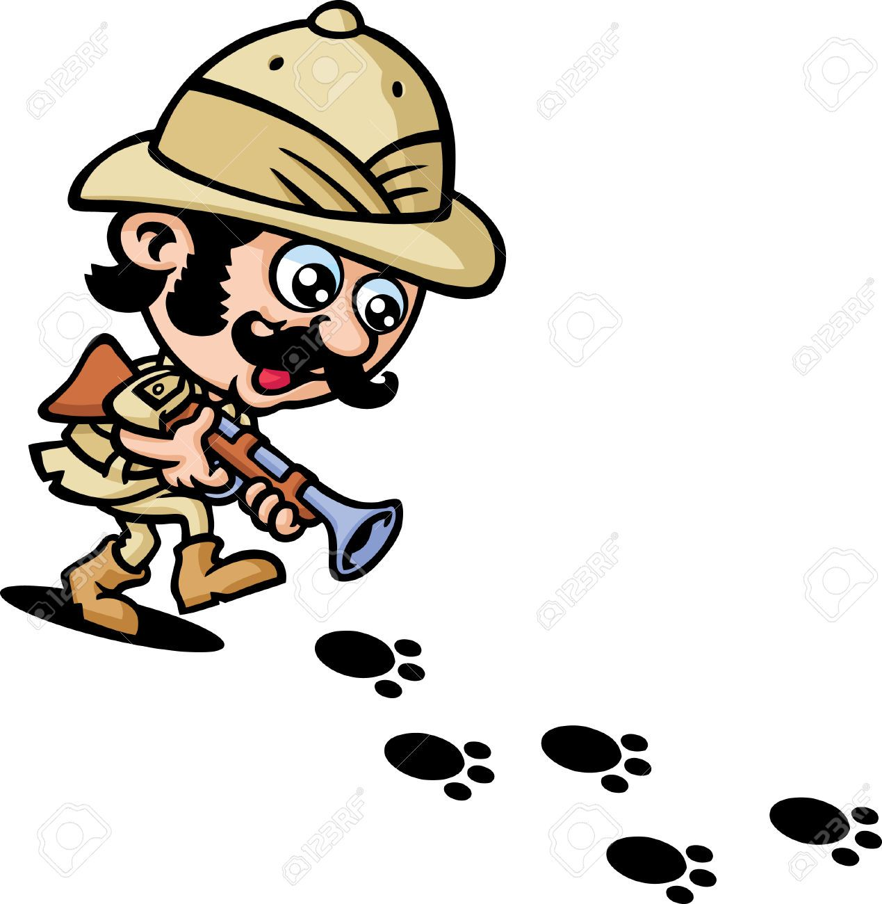 Hunter clipart safari hunter.  x clip art