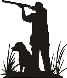 best duck images. Hunter clipart silhouette