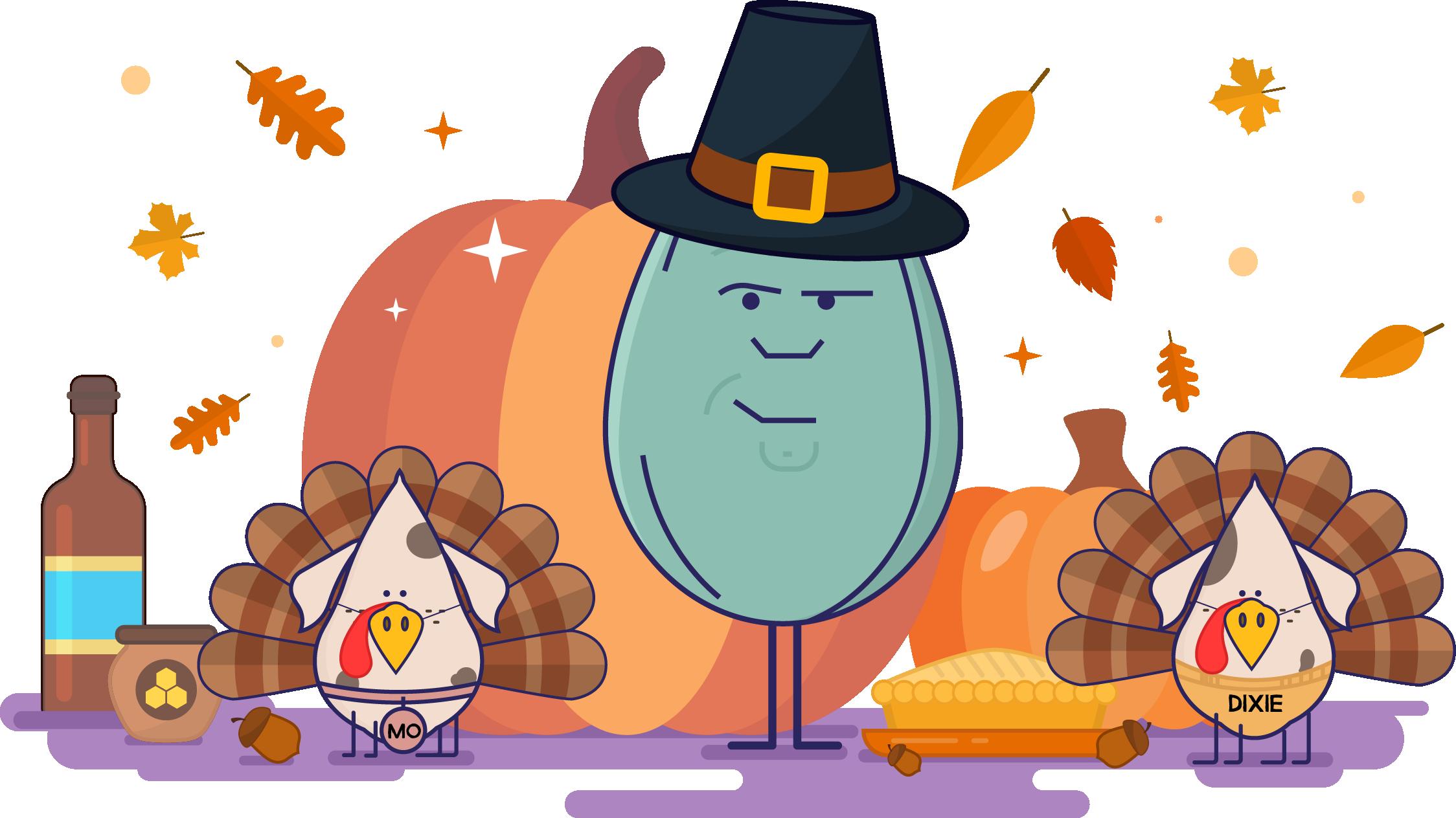 Hunter clipart thanksgiving. Hancock seed blog how
