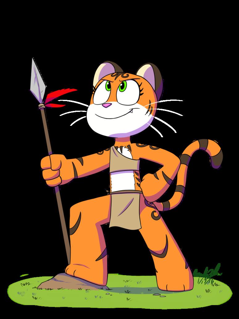 The mighty by jurassiczalar. Hunter clipart tribal