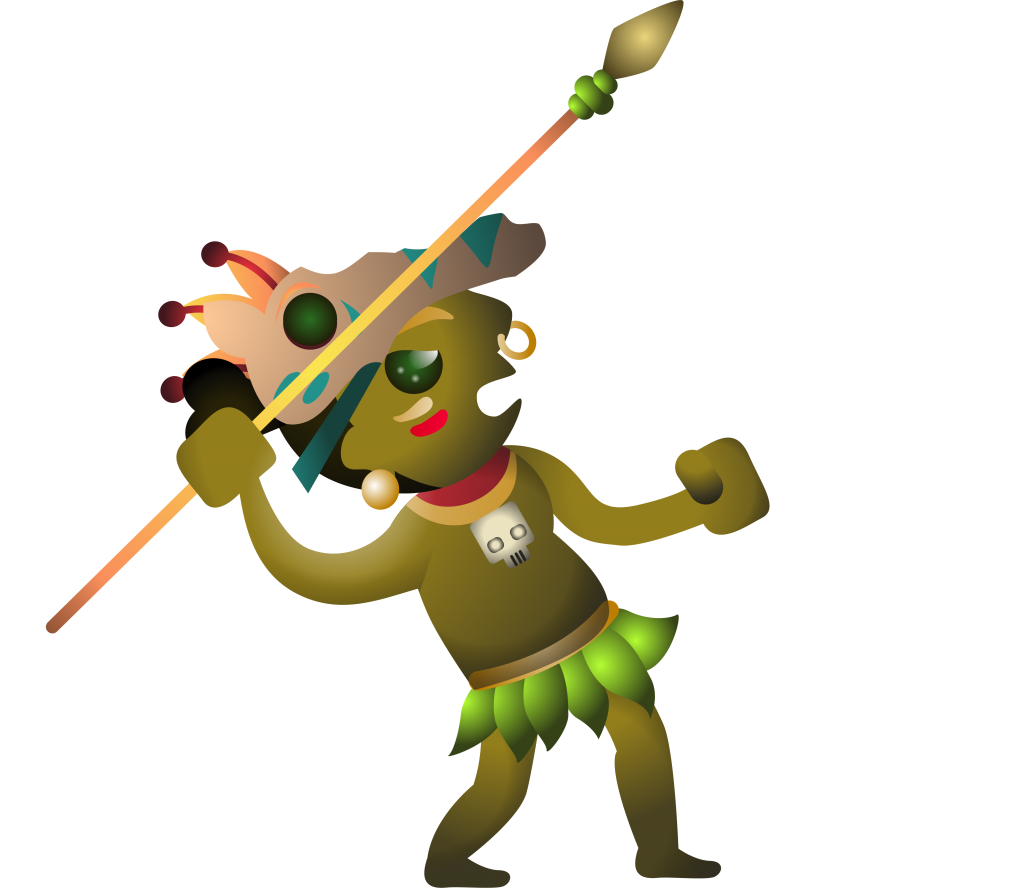 Hunt str ckspelsfabriken increase. Hunter clipart tribal