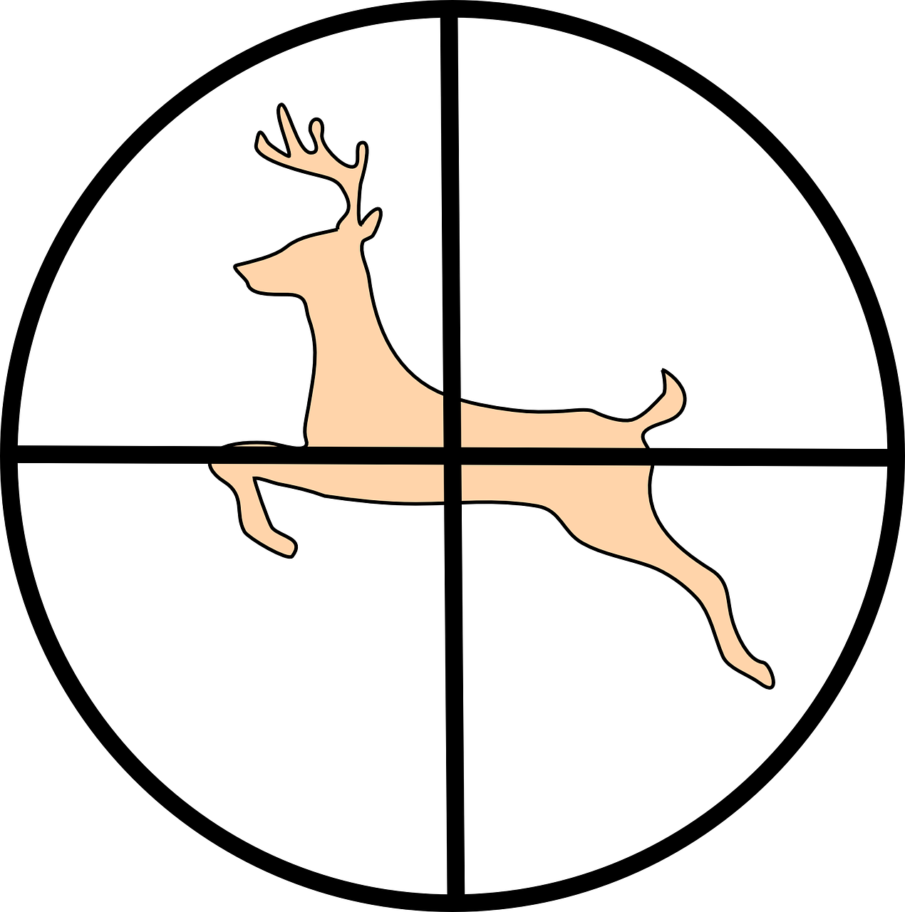 Hunting clipart two. Deer hunters in west