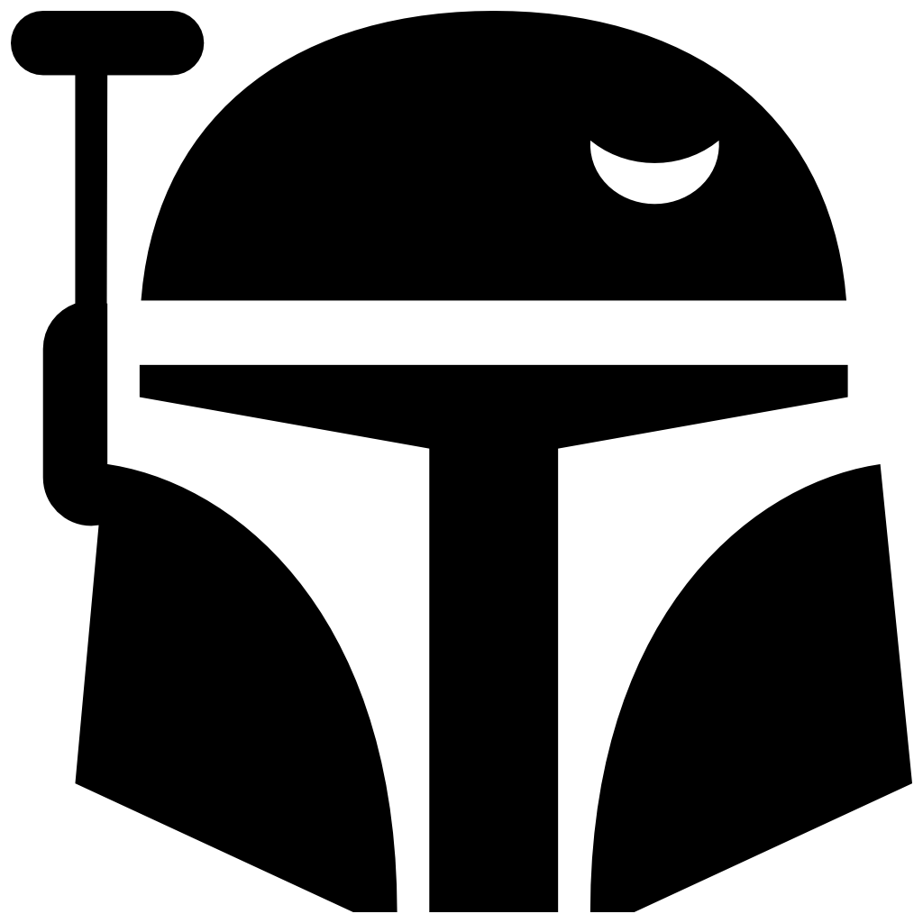 Starwars clipart star wars. Boba fett icon free