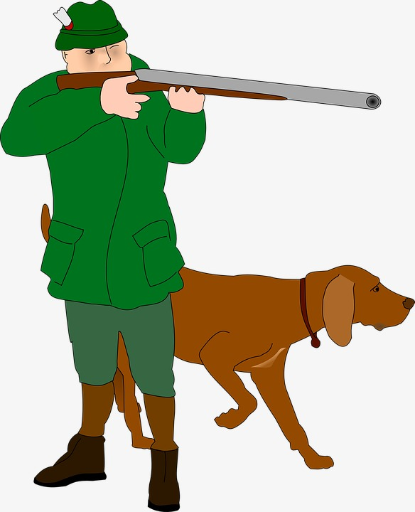 Hunting clipart. Hunter dog png image