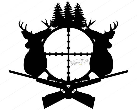 Hunting clipart. Deer svg silhouette gone
