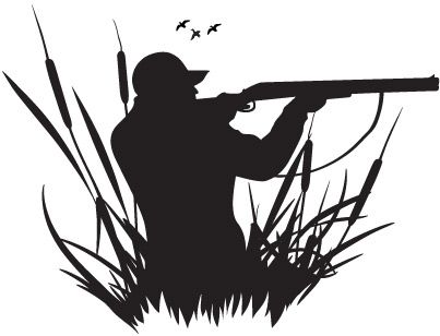Hunter clipart black and white. Duck hunting cakes pinterest