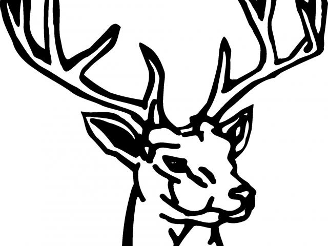 Free download clip art. Hunting clipart 8 point buck