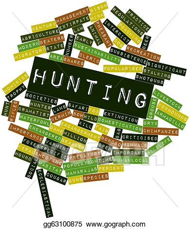 Hunting clipart abstract. X free clip art