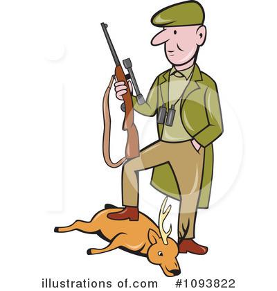 Hunter illustration by patrimonio. Hunting clipart animal hunting