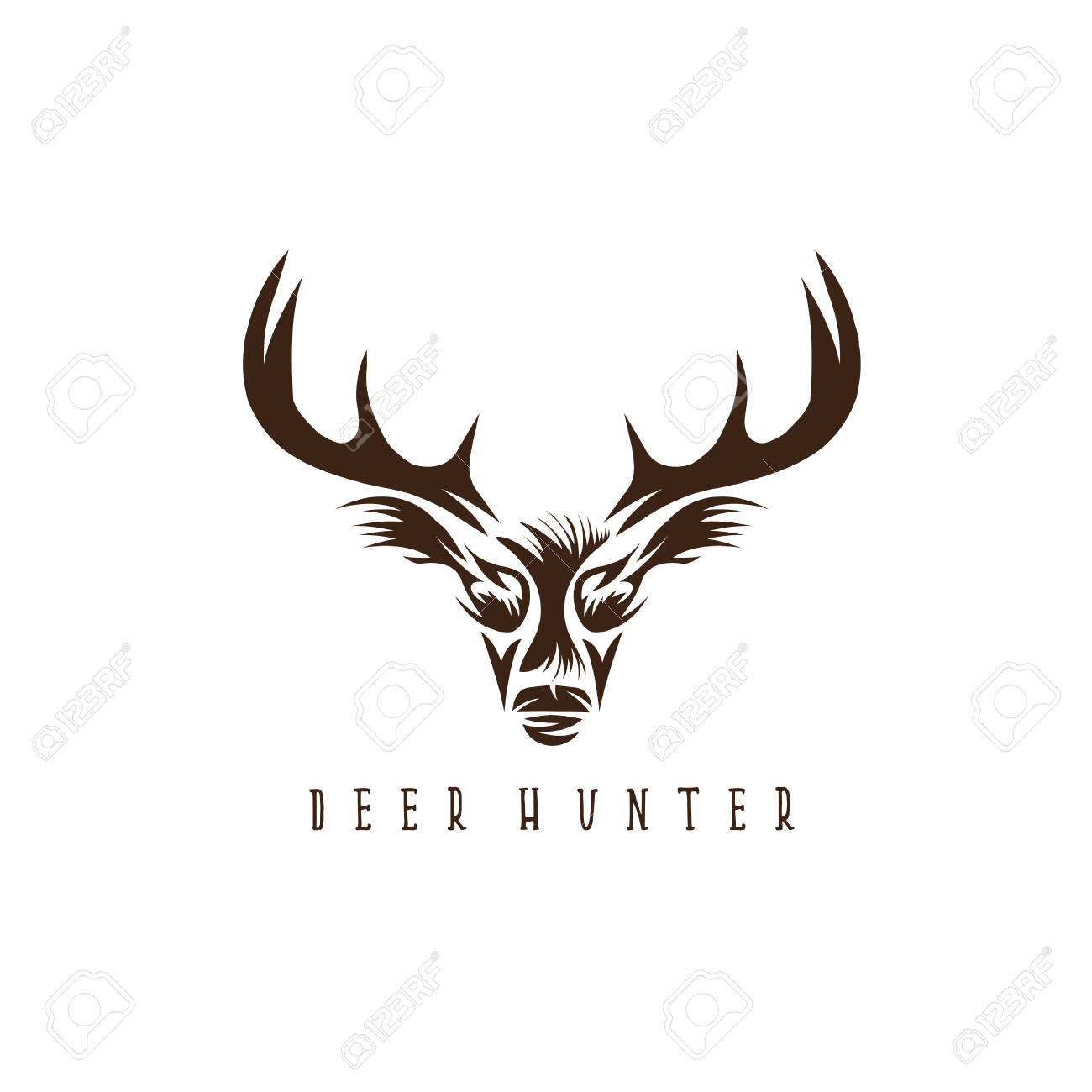 Hunting clipart antelope head. Free download clip art