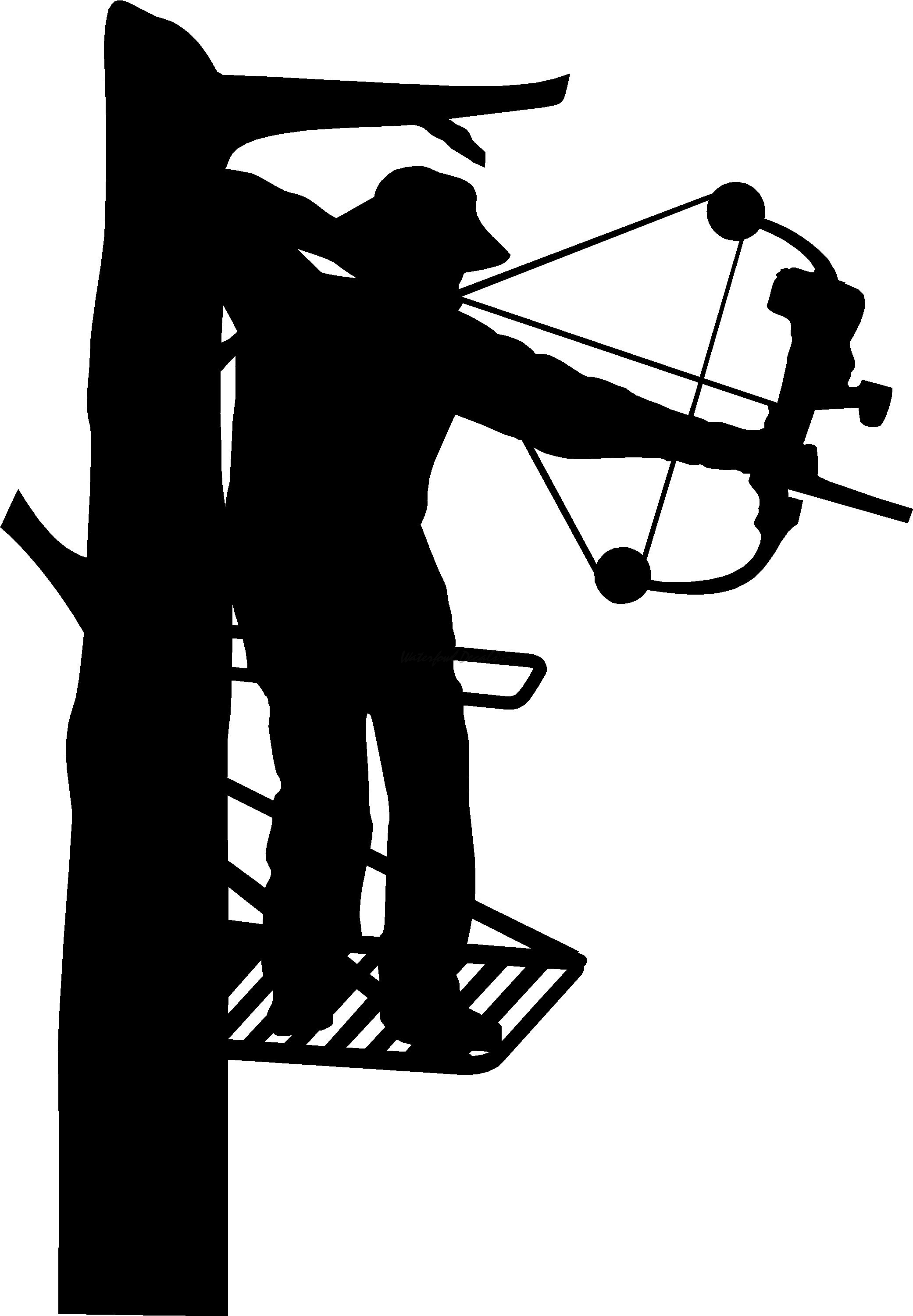 Bow station . Hunting clipart archery hunting