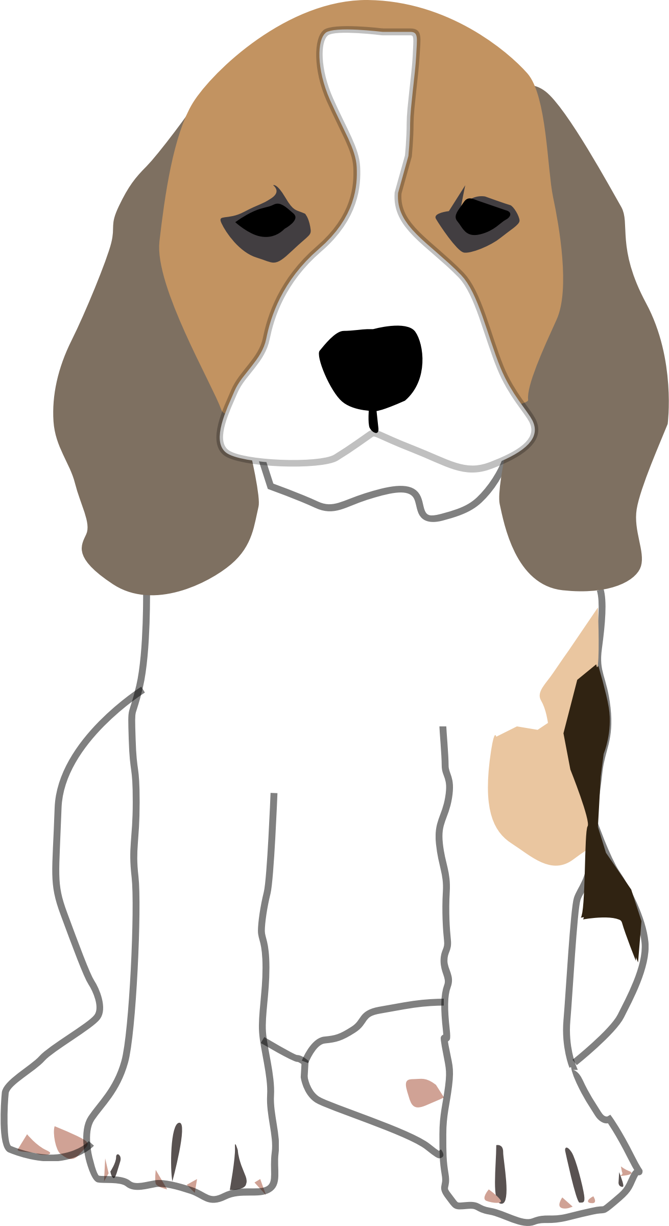 Hunting clipart beagle. Puppy by mikestratton net