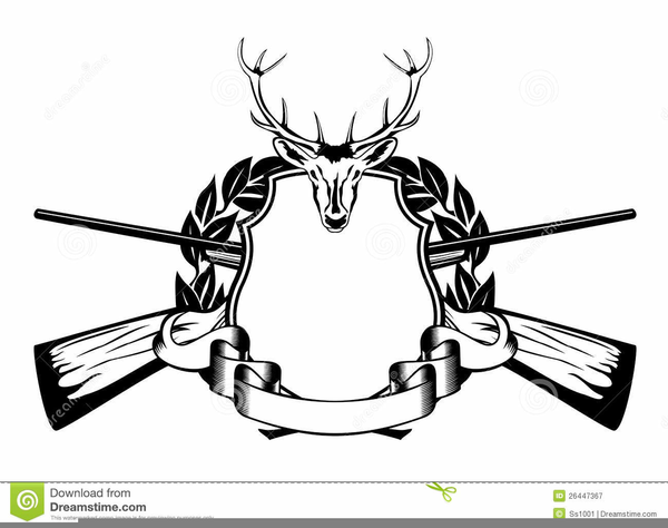 Hunting clipart black and white. Free images at clker