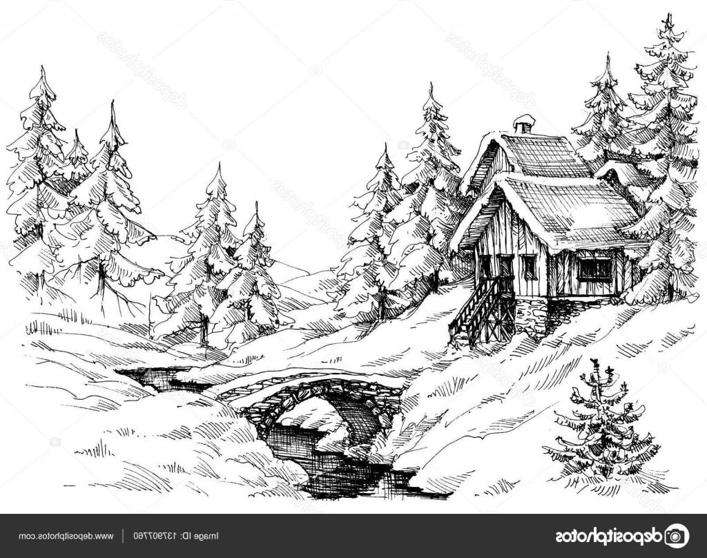 Hunting clipart cabin in woods. Best the illustration vector