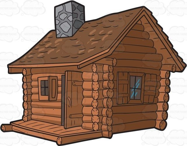 Shack x free clip. Hunting clipart cabin in woods