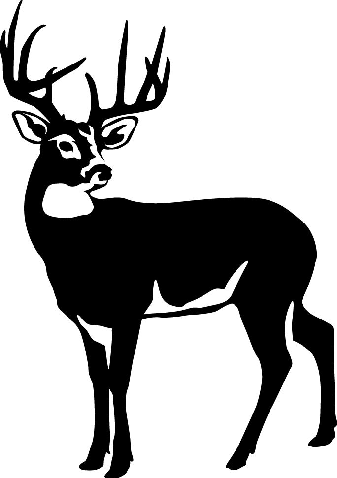 Free download clip art. Hunting clipart car decal