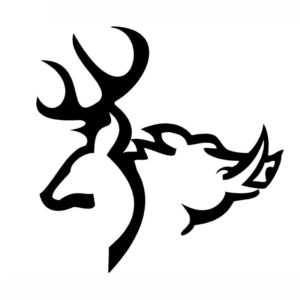 X free clip art. Hunting clipart car decal