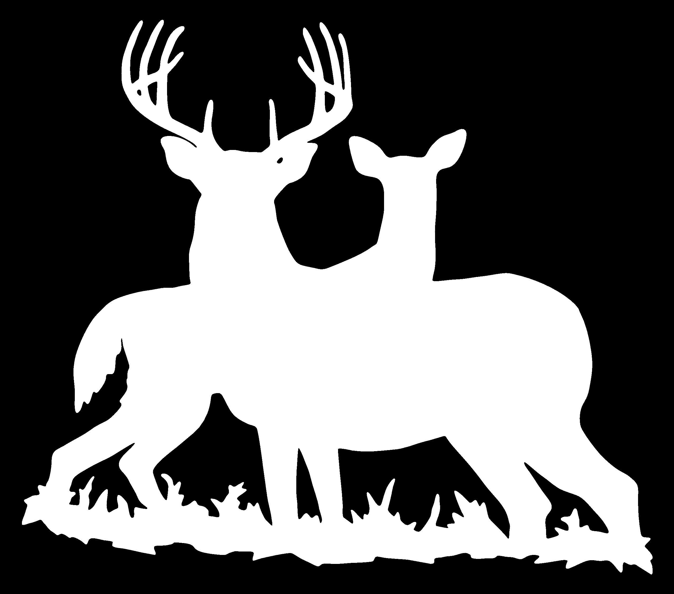 Hunting clipart car decal. Vinyl xpx deer bad