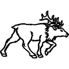 Hunting clipart caribou. Free download best on