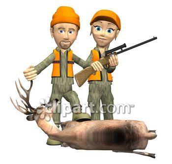Hunting clipart couple. Com school edition demo